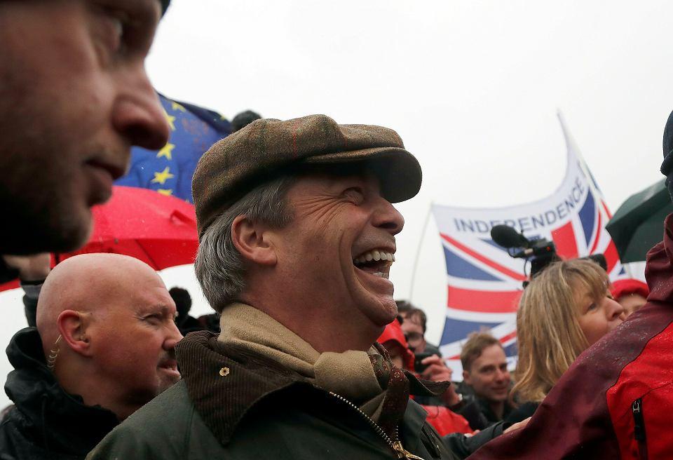 Brexit. Nigel Farage