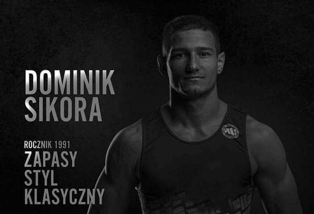 Dominik Sikora, zapaśnik Sobieskiego Poznań