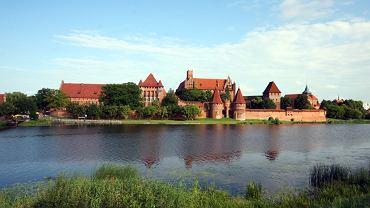 Malbork, siedziba Krzyżaków