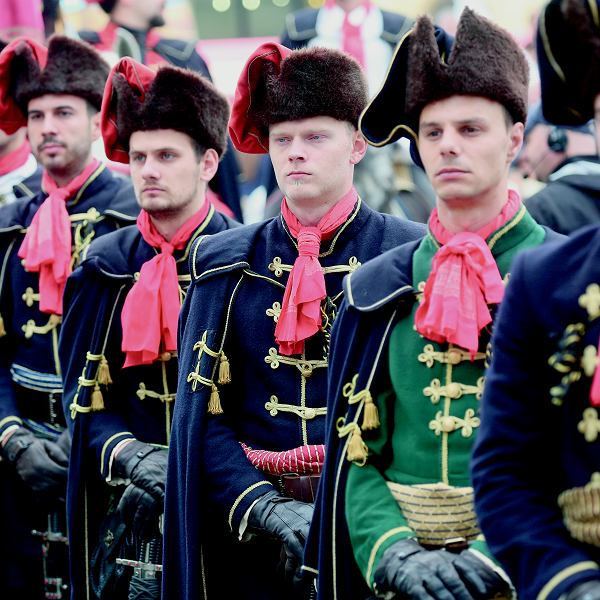 Chorwacki regiment Royal Cravates reaktywowany w 2010 r.