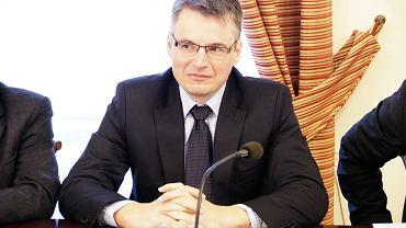 Sesja rady miasta. Janusz Kubicki