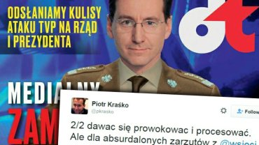 """Okładka """"wSieci"""" i wpis Piotra Kraśki"""