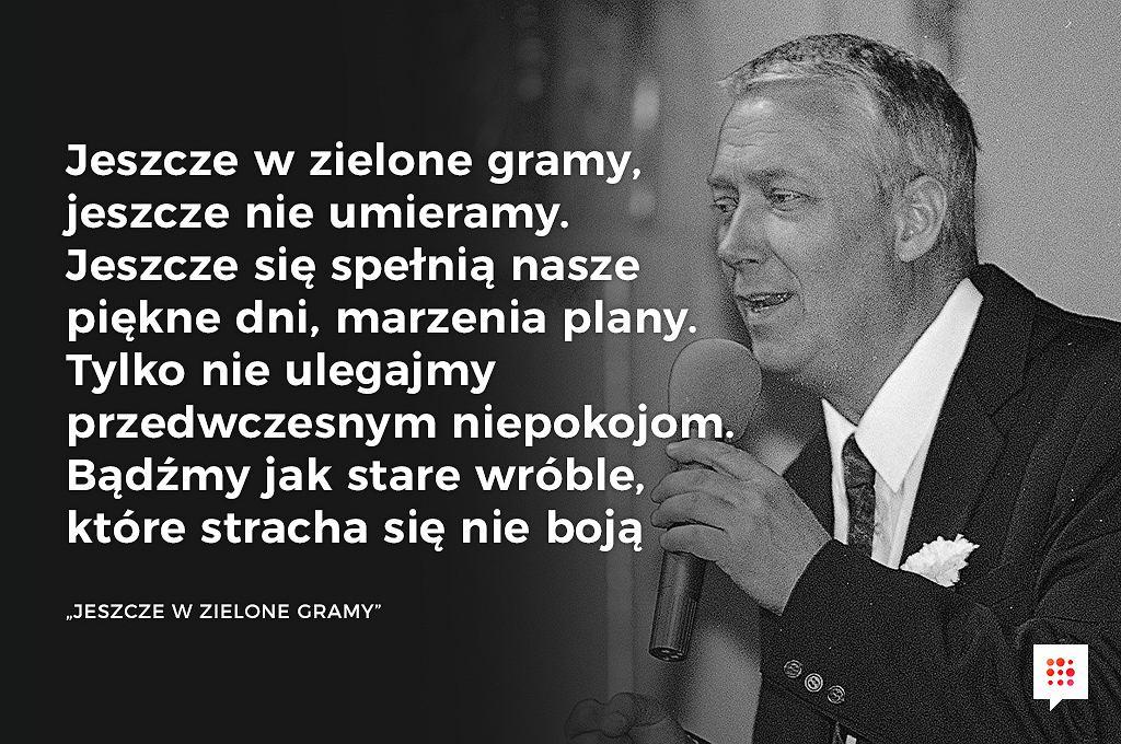 Wojciech Młynarski Nie żyje Za Te Teksty Go Kochaliśmy