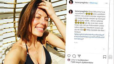 Kasia Glinka nurkuje w ciąży