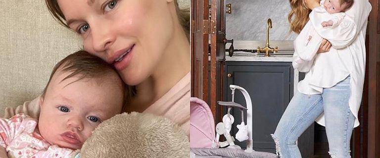 """Córeczka Joanny Krupy zostanie modelką? Asha-Leigh wygląda identycznie jak """"dziecko Gerbera"""""""