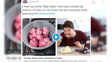 Dziennikarz BBC ujawnia, jak oszukują nas w popularnych filmach kulinarnych