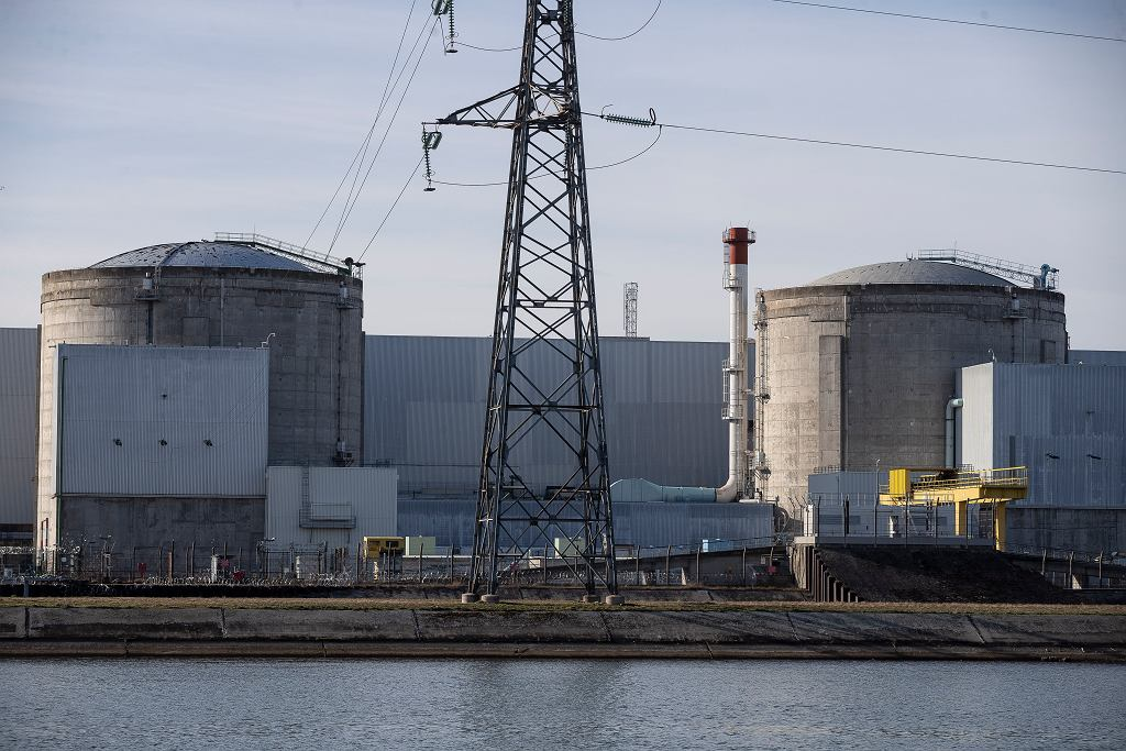 Francuska elektrownia atomowa Fessenheim