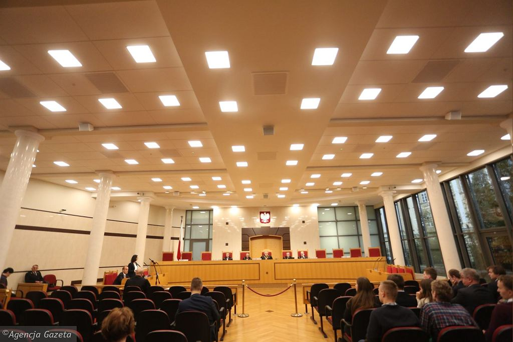 Rozprawa w Trybunale Konstytucyjnym (fot. Sławomir Kamiński/AG)