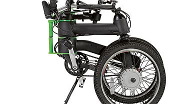 The Folding Electric Bicycle. Cena: 2000 dol.