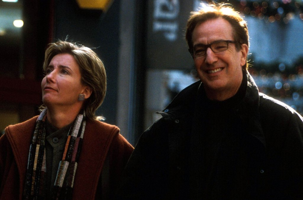 Emma Thompson i Alan Rickman.