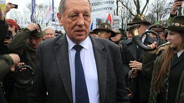Marzec 2017. Manifestacja poparcia dla ministra Szyszki