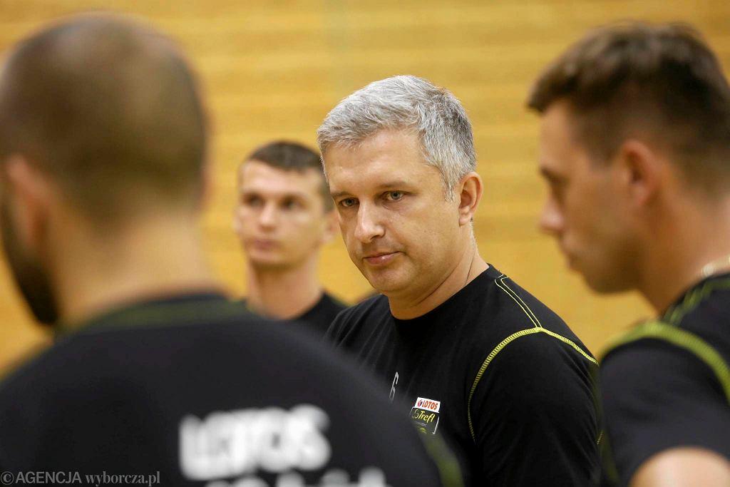 Trener Lotosu Trefl Gdańsk Radosław Panas