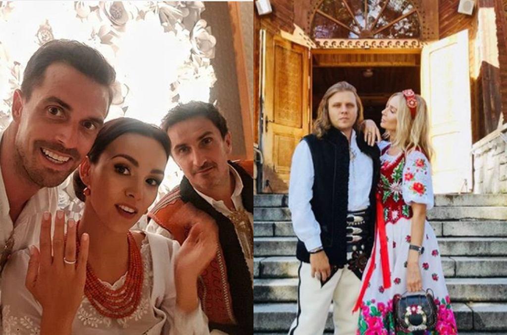wesele Krupińskiej i Karpiela-Bułecki