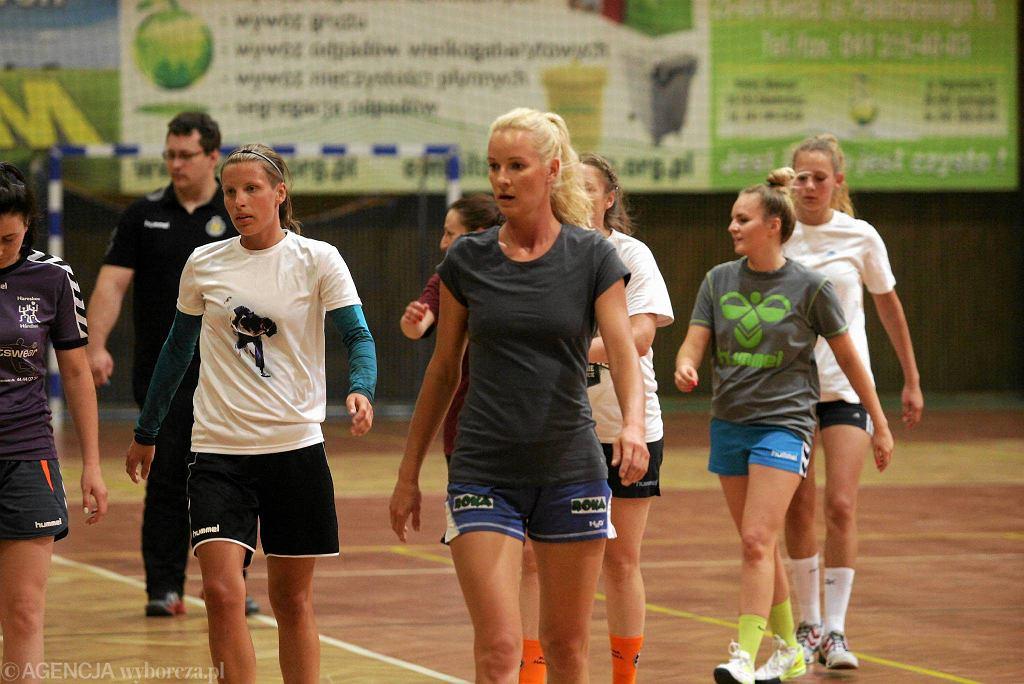 Pierwszy trening piłkarek ręcznych Korony Handball