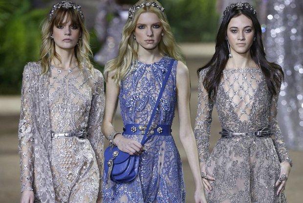 Elie Saab Couture wiosna-lato 2016