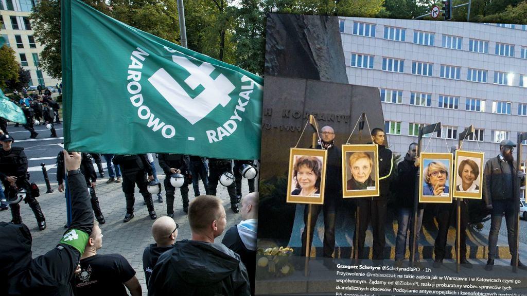 Demonstracja narodowców
