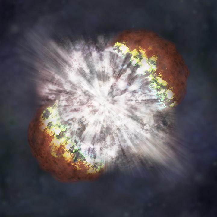 Jednak z najjaśniejszych supernowych zaobserwowanych przez NASA - ilustracja