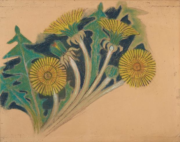 Kwiaty Mlecza Projekt Dekoracji Malarskiej Do Fary W