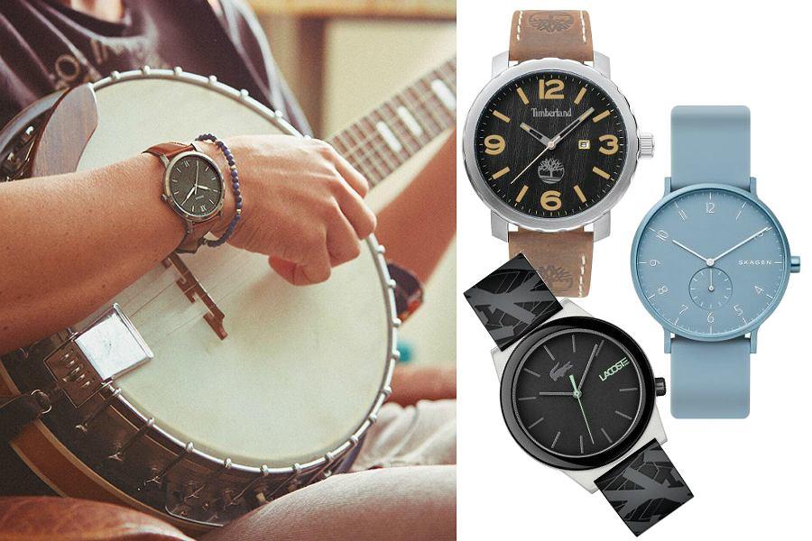 Zegarki męskie do 450 zł - znane marki