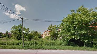 Czaszka została znaleziona w Wołominie przy ulicy Lipińskiej