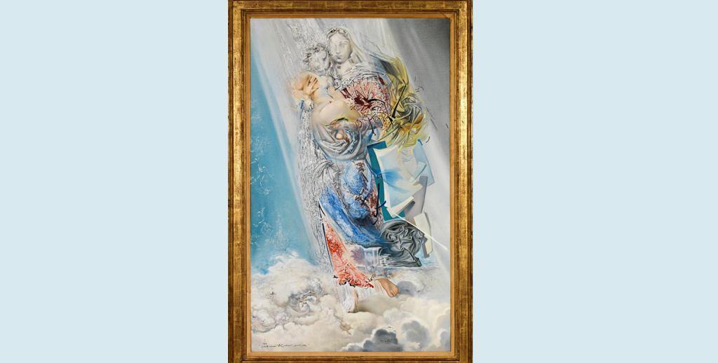 'Kosmiczna Madonna' - nieznane dzieło Salvadora Dali