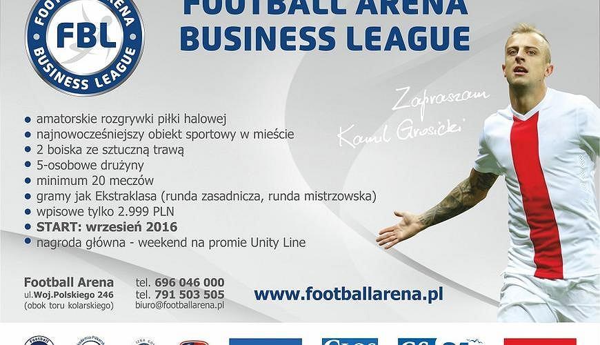 Kamil Grosicki zaprasza do amatorskich rozgrywek piłkarskich