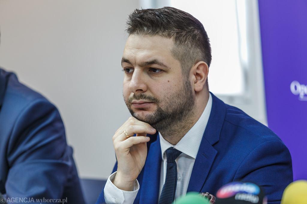 Kandydat na prezydenta Warszawy Patryk Jaki