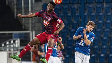 Lech Poznań - Videoton Szekesfehervar 3:0 w pierwszym meczu IV rundy eliminacji do Ligi Europy. Kasper Hamalainen