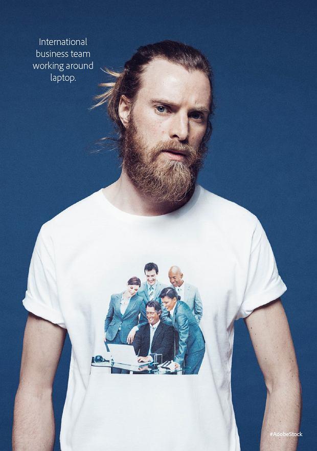 Stokowe zdjęcia na koszulkach
