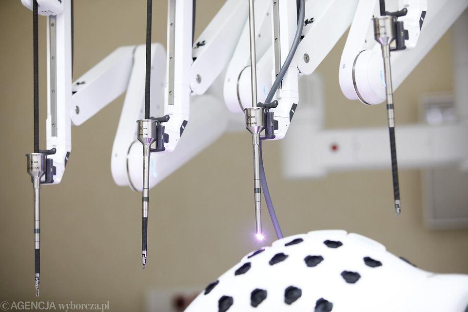 Szpital na Klinach, robot Da Vinci