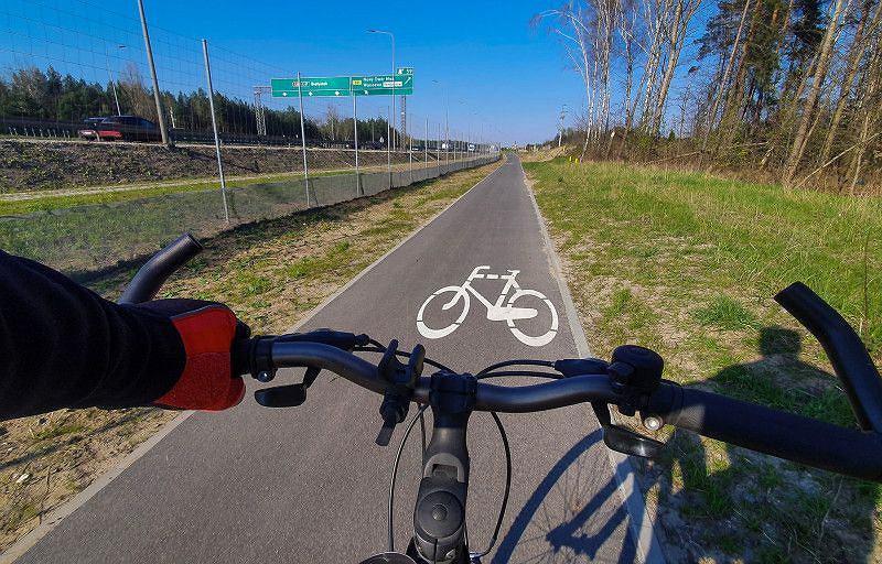 Ścieżka rowerowa, rowerzysta