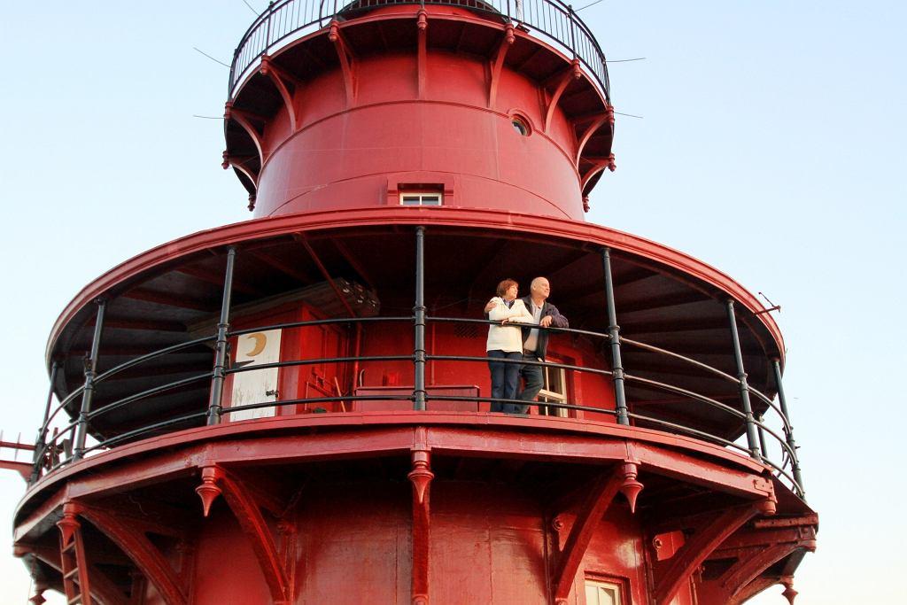 Zamieszkali w latarni morskiej