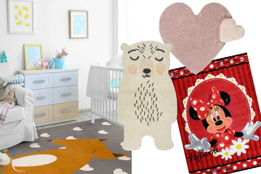 Dywany do pokoju dziecięcego