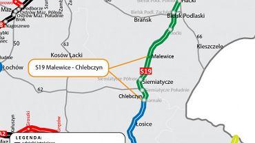 Via Carpatia, S19 Malewice - Chlebczyn
