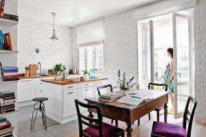 Biała cegła - modne wykończenie ścian. Jak wygląda we wnętrzach?