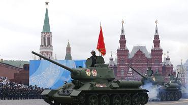 Moskwa - obchody 76. rocznicy zakończenia II wojny światowej. Podczas przemówienia Władimir Putin deklarował, że Rosja będzie twardo bronić swoich interesów narodowych