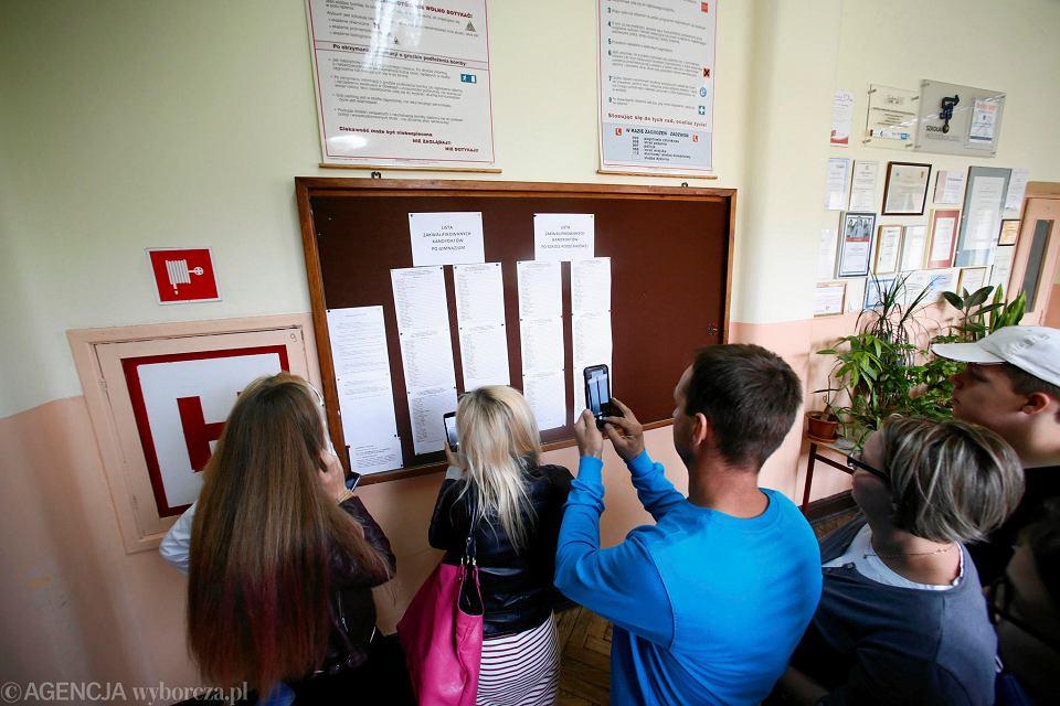 Wyniki rekrutacji do szkół średnich w Łodzi