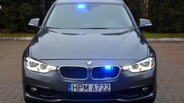 Nowe nieoznakowane radiowozy policji marki bmw