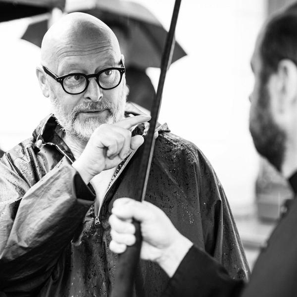 Wojciech Smarzowski na planie filmu 'Kler' (fot: Bartosz Mrozowski)