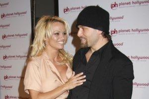 Pamela Anderson i Rick Salomon