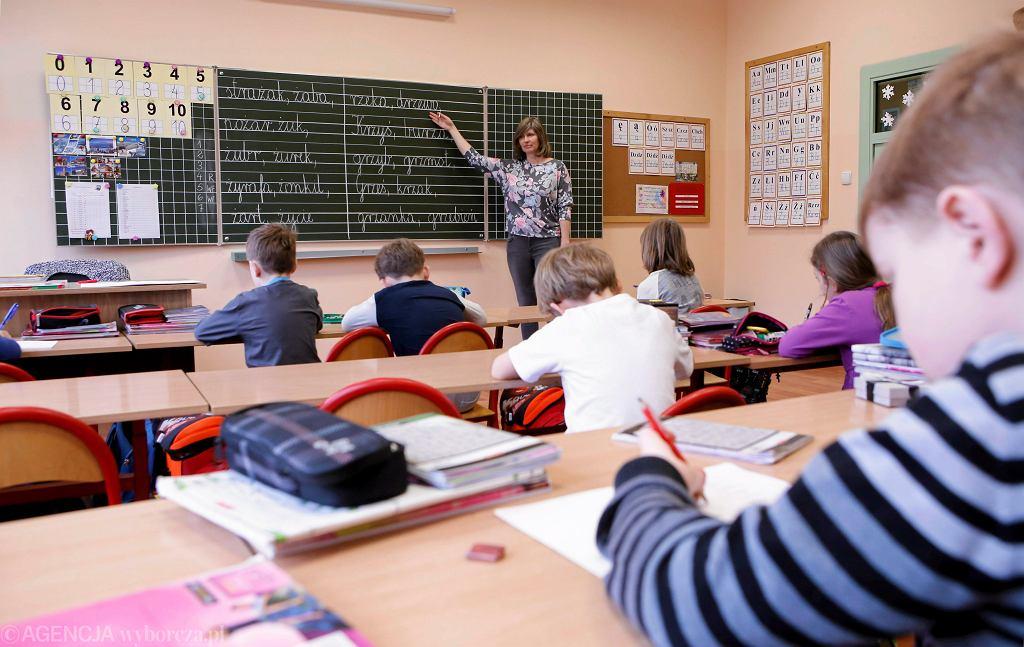 Toruń. Lekcja w Społecznej Szkole Podstawowej
