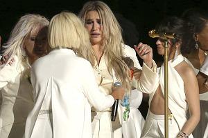 Występ Keshy podczas 60. gali rozdania nagród Grammy w Nowym Jorku