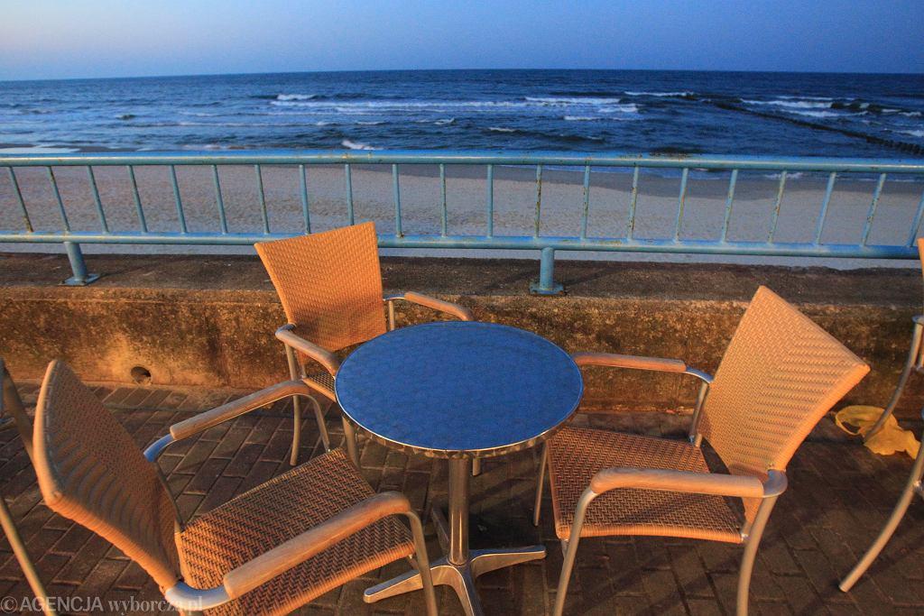 Plaża w Kołobrzegu. Zdjęcie ilustracyjne