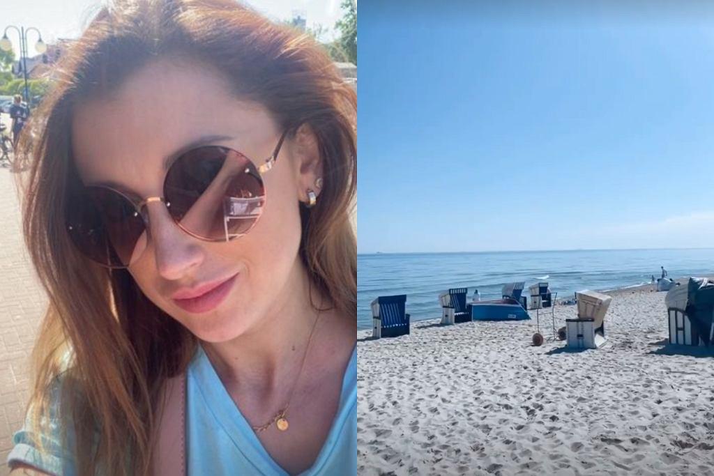 Justyna Żyła na wakacjach