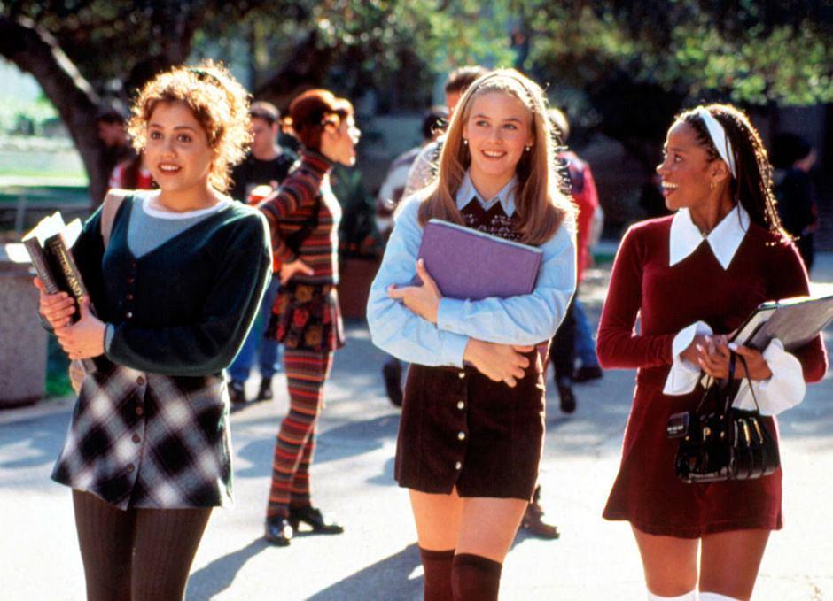 Dziewczyny z 'Clueless' były clueless także w kwestii tego, jak porządnie ubrać się do szkoły