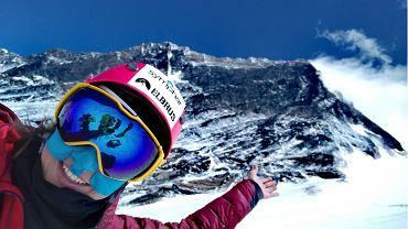 Miłka Raulin w drodze na Mount Everest
