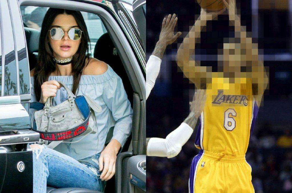 Kendall Jenner i Jordan Clarkson