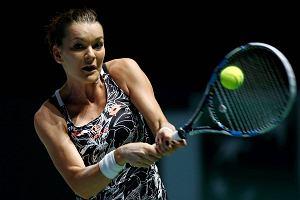 WTA Finals. Domański: Radwańska to ładna, szczupła dziewczyna. Nie będzie cyborgiem. To ograniczenie