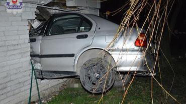 Wypadek w Olchowcu