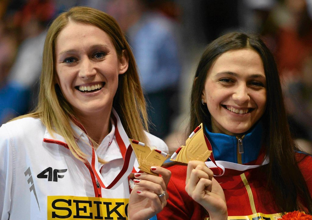 Kamila Lićwinko i Maria Kuczina